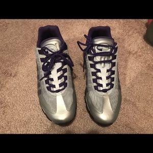 Women's Nike AirMax 95+ Metallic/Purple Size 10